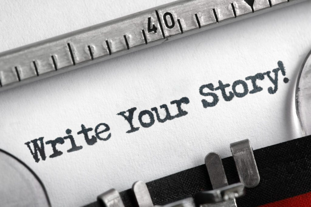 A great way to build your brand is to tell your story.