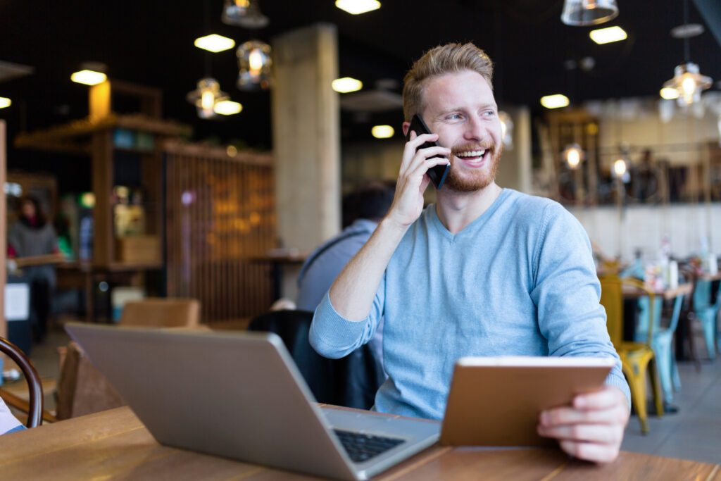 Compliment your customers on the phone.