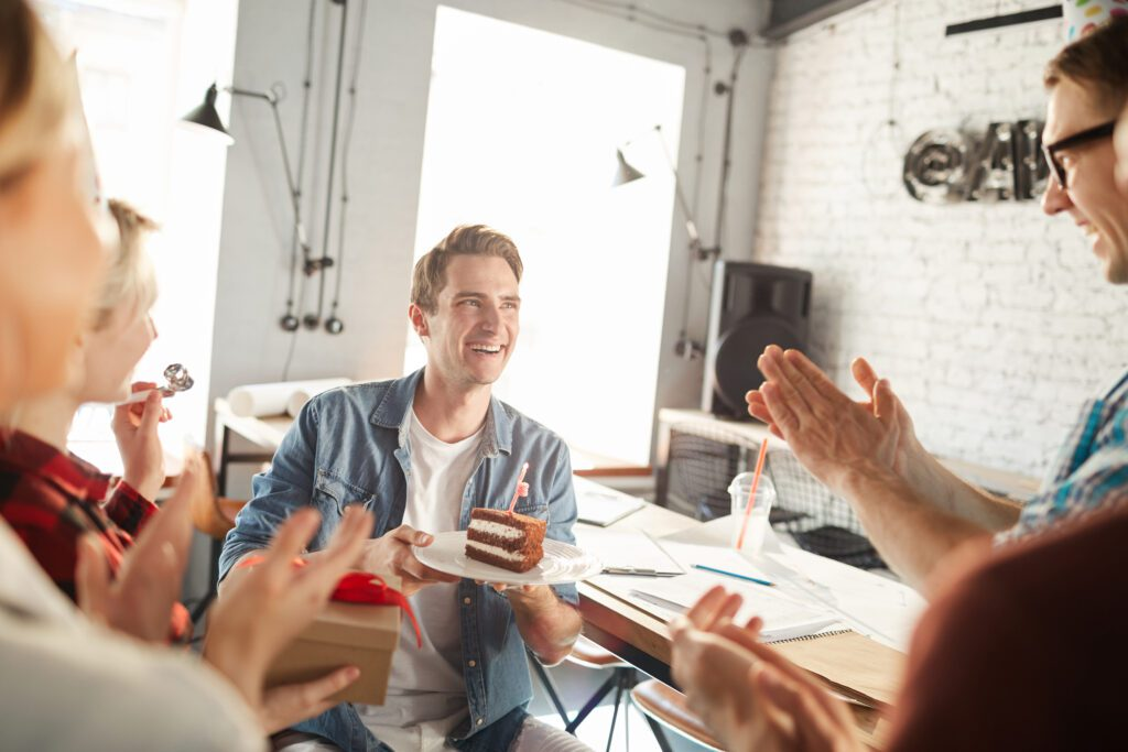 Celebrate your employees and business.