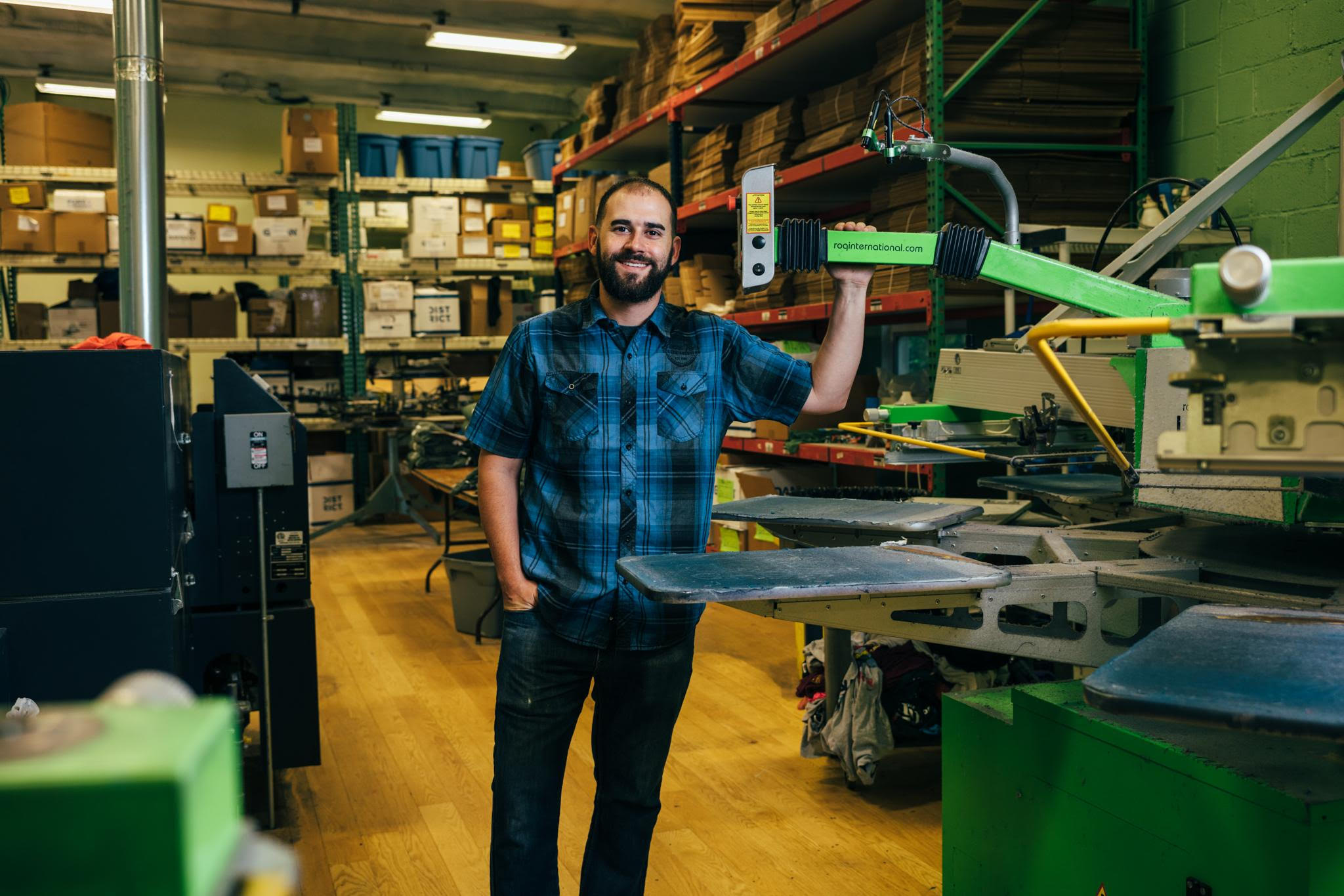 Beeze Tees Screen Printing's Success Story